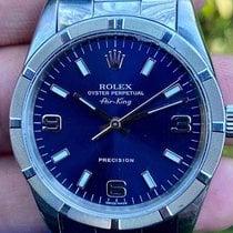 Rolex Air King Precision Steel 34mm Blue Arabic numerals Australia, Perth, WA