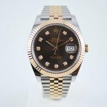 Rolex Datejust II 126331 Meget god Guld/Stål 41mm Automatisk