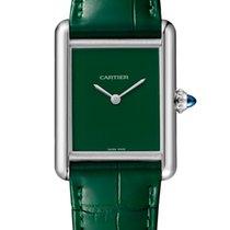 Cartier Tank (submodel) nieuw 2021 Quartz Horloge met originele doos en originele papieren WSTA0056