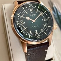 Longines Bronze Automatic Green 42mm new Legend Diver