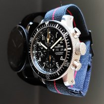 Fortis B-42 Official Cosmonauts pre-owned 44mm Black Chronograph Date Weekday Tachymeter