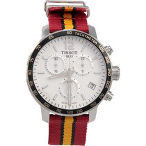 Tissot Quickster Steel 42mm Silver Arabic numerals United States of America, New Jersey, Somerset