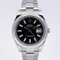Rolex Datejust II Acciaio 41mm Nero Italia, Eur (RM)