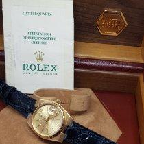 Rolex usato Quarzo 36mm Giallo Vetro zaffiro 10 ATM