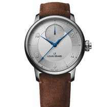 Louis Erard Excellence Steel 43mm Silver Arabic numerals United States of America, New Jersey, Princeton