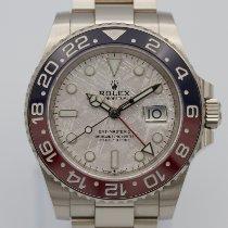 Rolex 126719BLRO Белое золото 2021 GMT-Master II 40mm подержанные