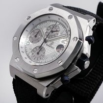Audemars Piguet Royal Oak Offshore Chronograph Steel 44mm Silver Arabic numerals United States of America, California, Los Angeles