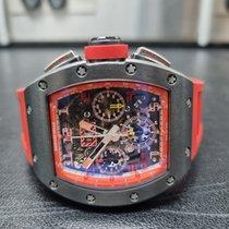 리차드밀 티타늄 50mm 자동 RM011 AH TI 중고시계