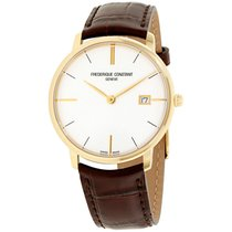 Frederique Constant Slimline Gents Steel 38mm Silver United States of America, New Jersey, Somerset