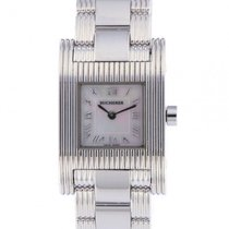 Carl F. Bucherer White gold Quartz Mother of pearl Roman numerals 21mm pre-owned Pathos