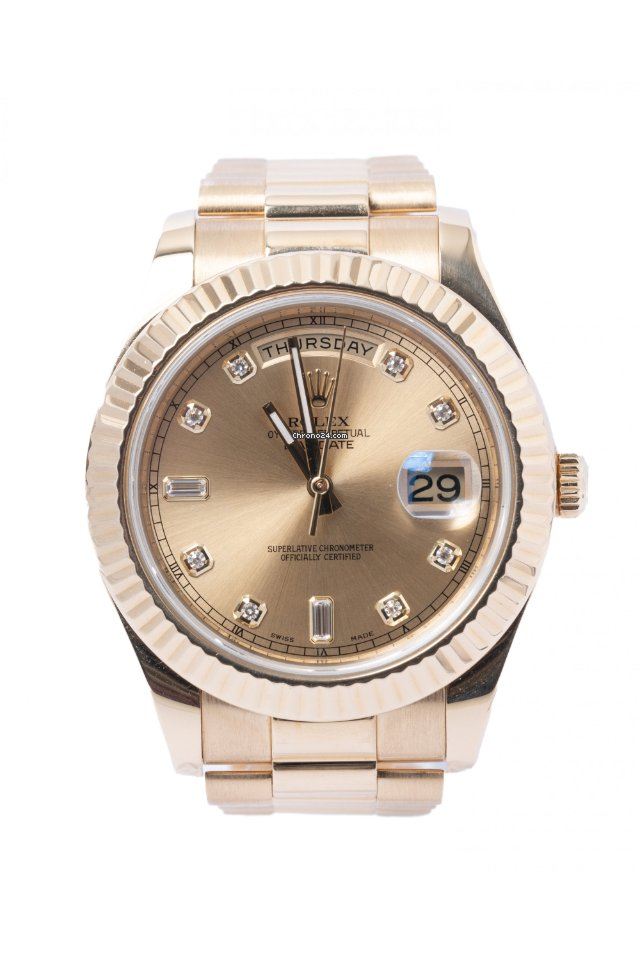 Rolex (ロレックス) デイデイト II 218238 中古