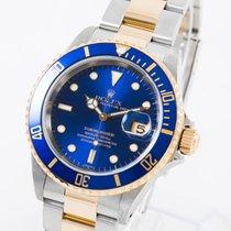 Rolex 16613 Gold/Stahl 1999 Submariner Date 40mm gebraucht