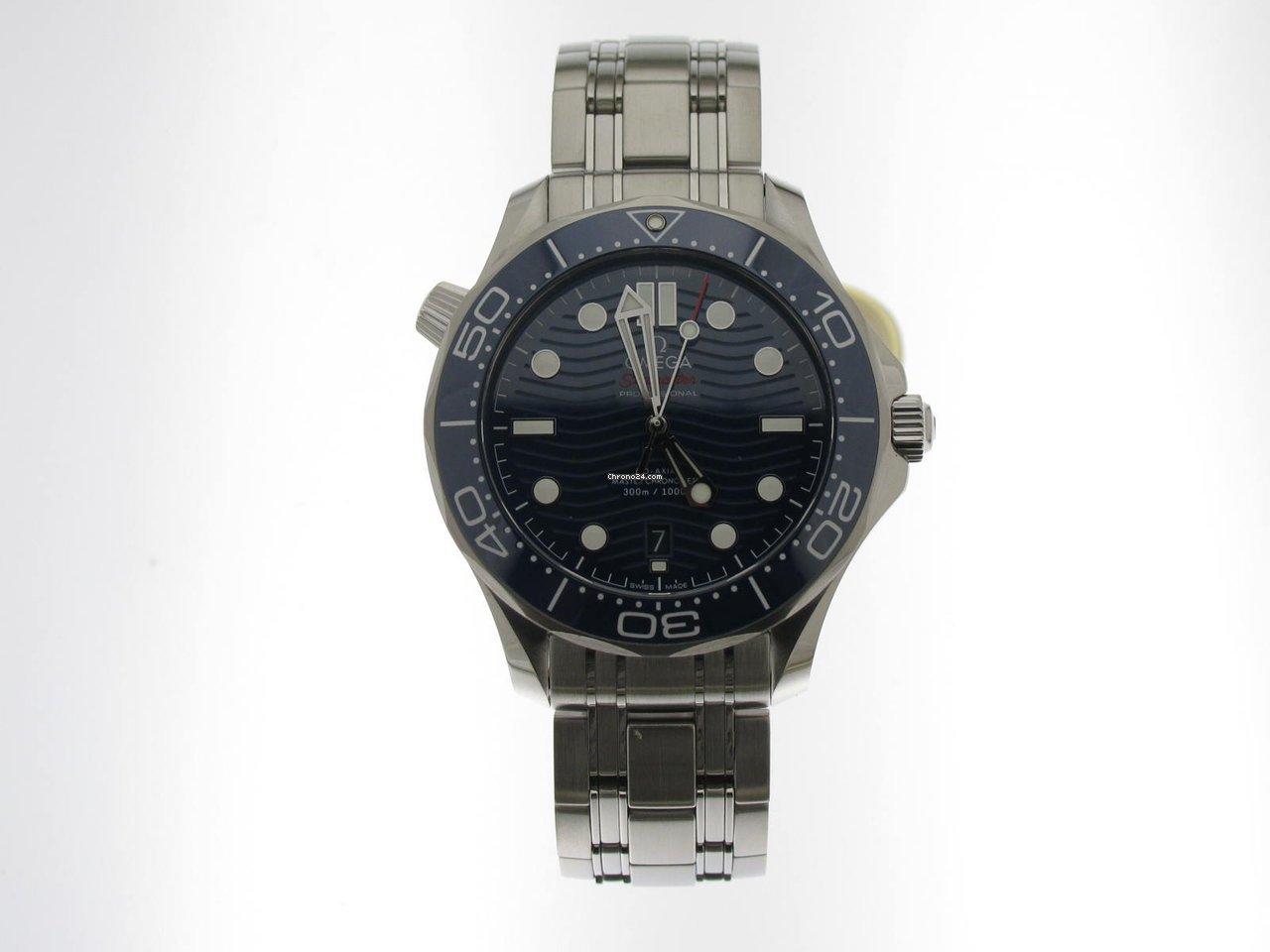Omega Seamaster Diver 300 M 210.30.42.20.03.001 2021 new