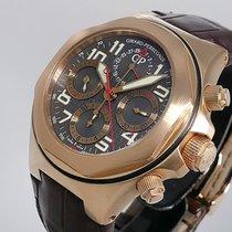 Girard Perregaux Rose gold Automatic Grey Arabic numerals 44mm pre-owned Laureato