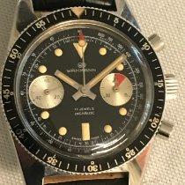 Wakmann Сталь 39mm Механические Diver Vintage Chronograph подержанные