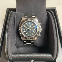 Breitling Steel Automatic Blue 42mm pre-owned Superocean