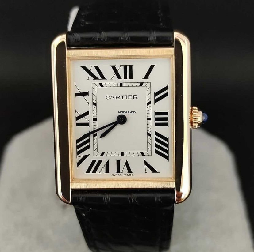 Cartier Tank Solo 2020 pre-owned