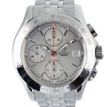 Tudor Chronautic Steel 43mm Silver