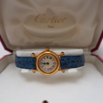 Cartier Diabolo Желтое золото 27mm Белый Римские Россия, Zhukovsky