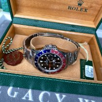 Rolex 16710 Steel 2007 GMT-Master II 40mm pre-owned United Kingdom, Beaconsfield
