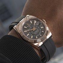 Rolex Sky-Dweller Rose gold 42mm Grey United Kingdom, London