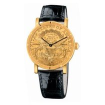 Corum Coin Watch Yellow gold Gold No numerals