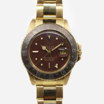 Rolex GMT-Master Yellow gold 40mm Brown United States of America, Connecticut, Stamford