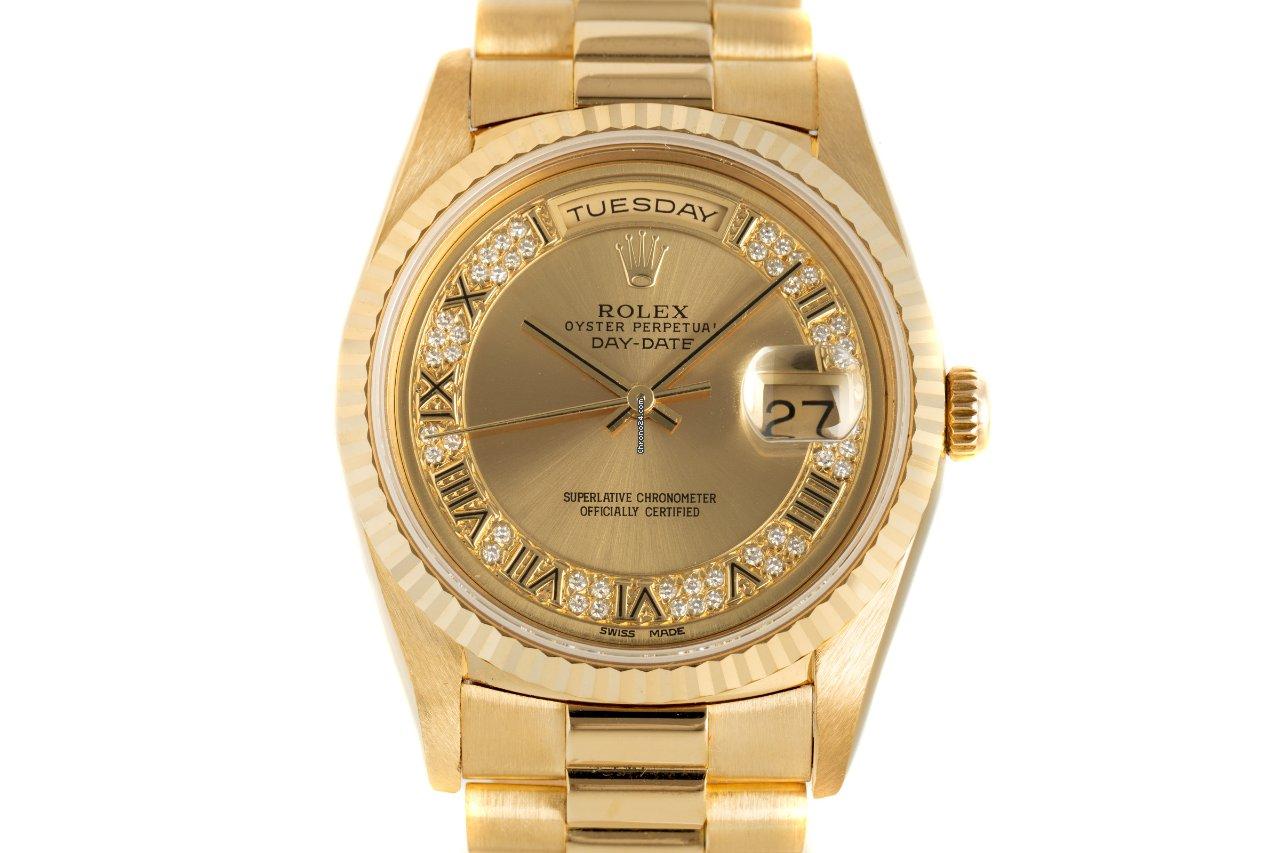 Rolex Day-Date 36 18238 1990 подержанные