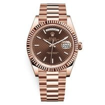 Rolex Day-Date 40 228235-0006 New Rose gold 40mm Automatic United States of America, New York, New York