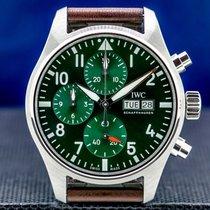 IWC Pilot Chronograph Steel 41mm Arabic numerals United States of America, Massachusetts, Boston