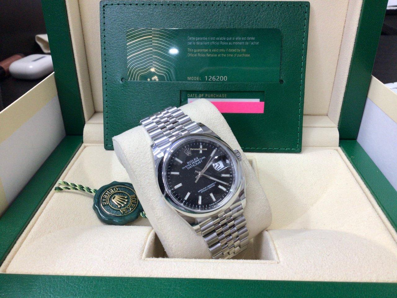 Rolex Datejust 126200 2021 nuevo