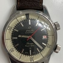 Enicar Sherpa Very good Steel 40mm Automatic United States of America, New Jersey, Upper Saddle River