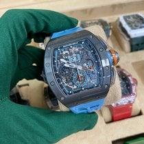 Richard Mille Keramika Automatika Průhledná nové RM 011