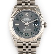 Rolex Datejust Steel 41mm Grey No numerals United States of America, Florida, Hollywood