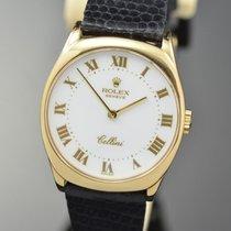 Rolex Cellini Yellow gold 24mm White Roman numerals