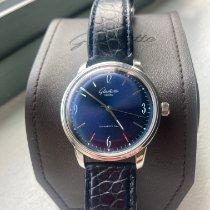 Glashütte Original Sixties Steel 39mm Blue Arabic numerals United States of America, New York, New York