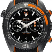Omega Seamaster Planet Ocean Chronograph Керамика 45.5mm Черный