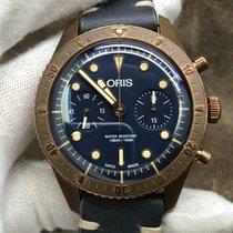 Oris Carl Brashear Bronze 43mm Blue United States of America, New York, New York