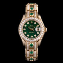 Rolex Lady-Datejust Pearlmaster Yellow gold 29mm Mother of pearl No numerals United Kingdom, London