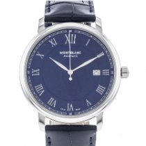 Montblanc Tradition Steel 40mm Blue