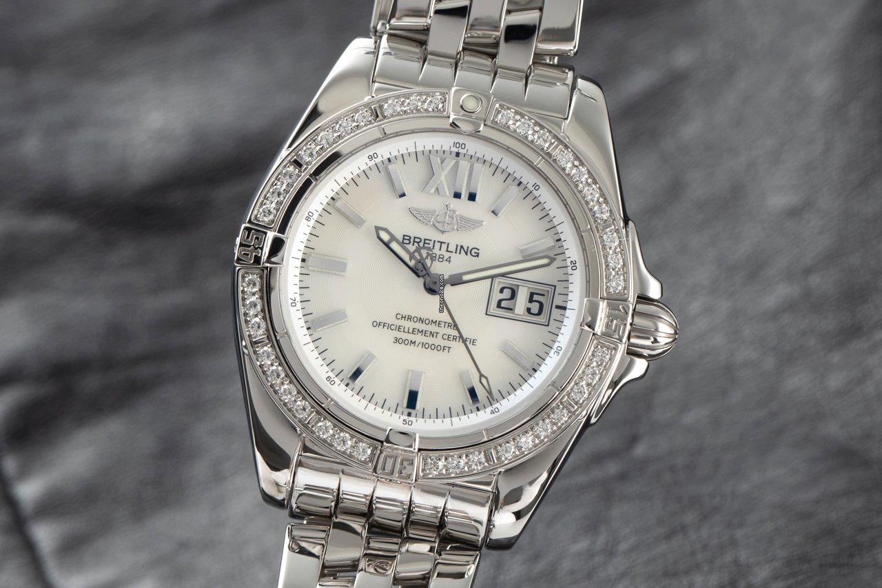 Breitling Galactic 41 A49350 2005 pre-owned