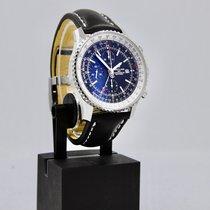 Breitling Navitimer World новые 2021 Автоподзавод Хронограф Часы с оригинальными документами и коробкой A24322