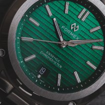 Formex Steel Automatic Green No numerals 39mm pre-owned