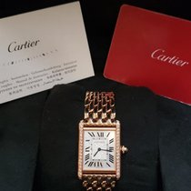 Cartier Tank Louis Cartier WJTA0021 Unworn Rose gold Manual winding India, Hyderabad