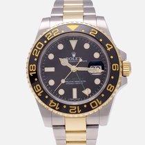 Rolex GMT-Master II 116713LN Foarte bună Aur/Otel 40mm Atomat