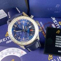 Breitling Navitimer World новые 2020 Автоподзавод Хронограф Часы с оригинальными документами и коробкой A24322