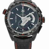 TAG Heuer pre-owned Automatic 44mm Black Sapphire crystal 10 ATM