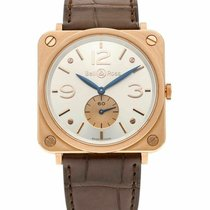Bell & Ross new 39mm Rose gold Sapphire crystal