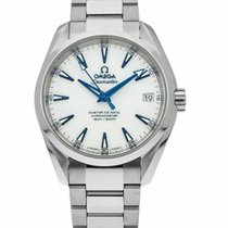 Omega Titanium Automatic White 38.5mm new Seamaster Aqua Terra