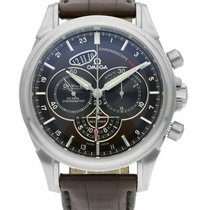 Omega De Ville Co-Axial new Automatic Chronograph Watch with original box 422.13.44.52.13.001
